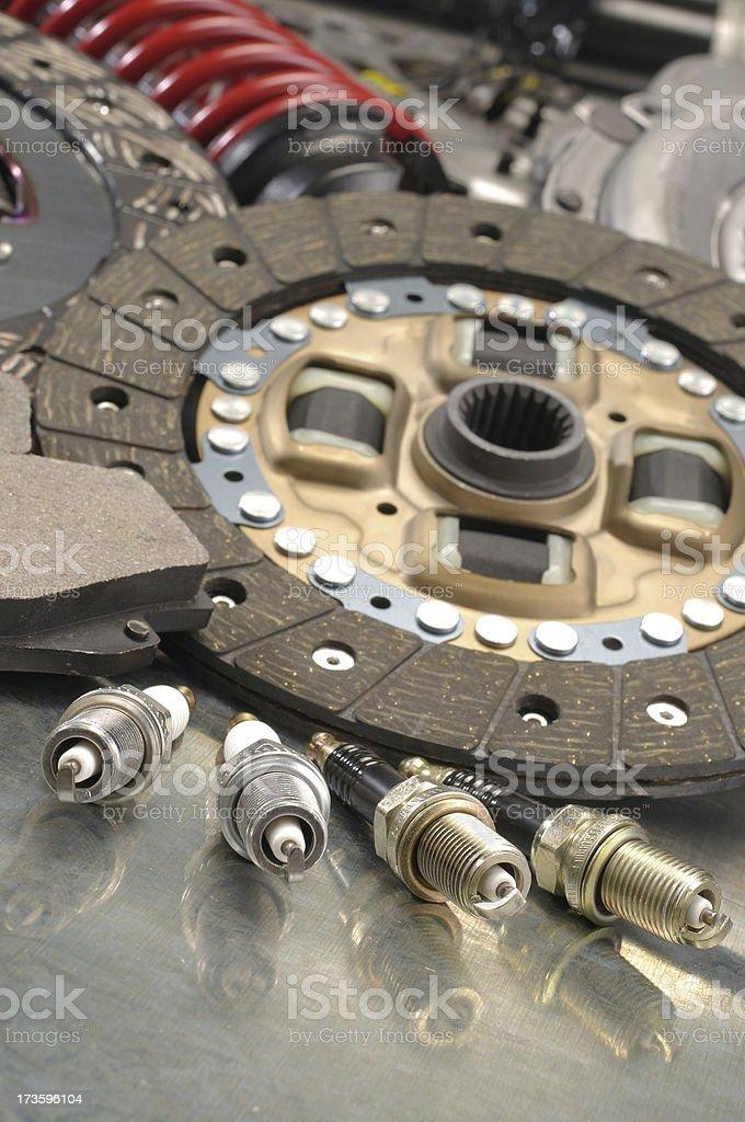 Auto parts royalty-free stock photo