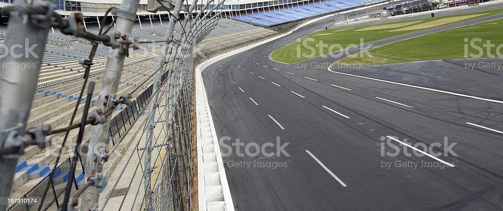 Auto Race Track stock photo