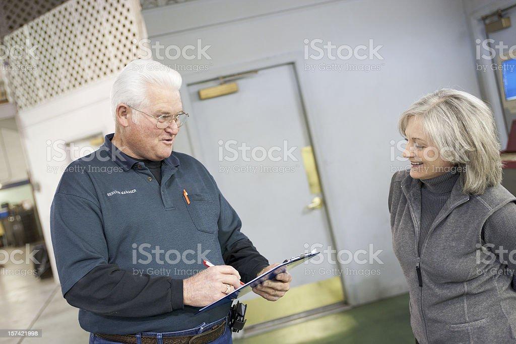 Auto Repair Series royalty-free stock photo