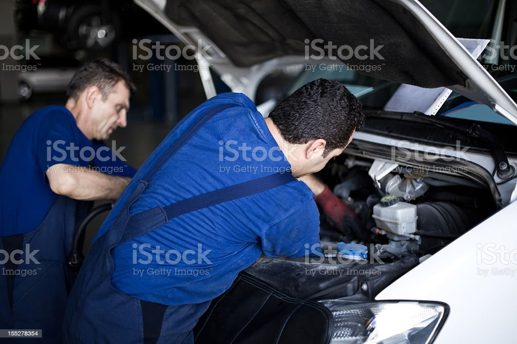 Auto Repair Shop royalty-free stock photo