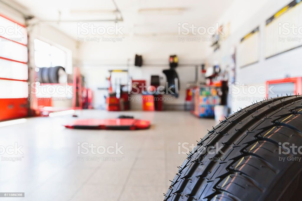 Auto Repair Shop stock photo