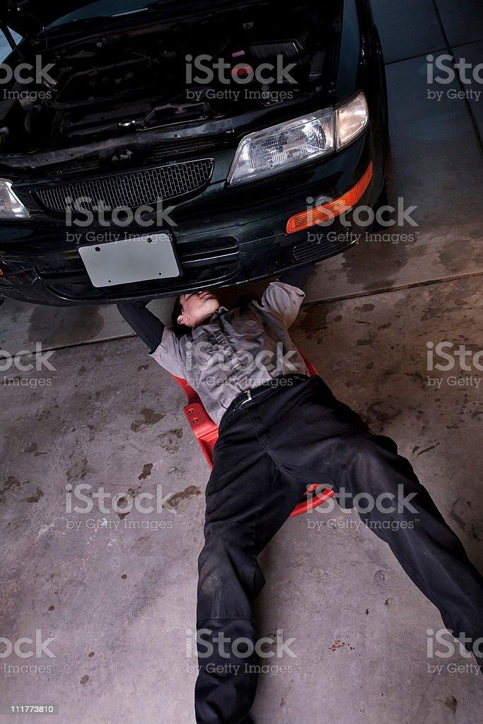 Auto Repair Workshop royalty-free stock photo