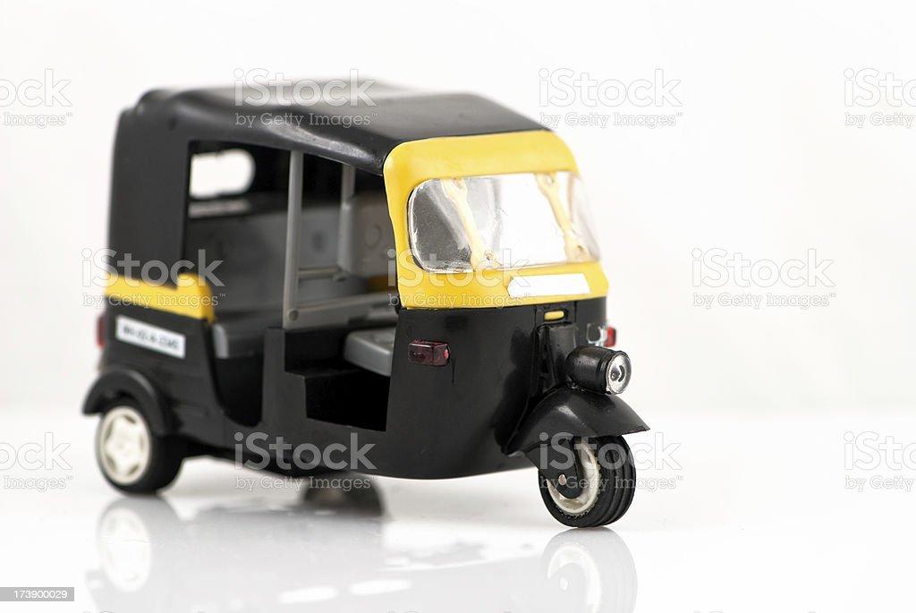 auto rickshaw royalty-free stock photo