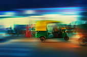 Auto Rickshaw Taxi India