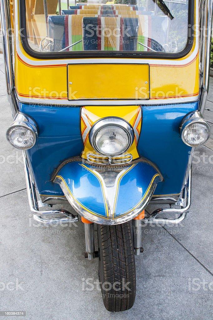 Auto rickshaws bangkok in thailand stock photo