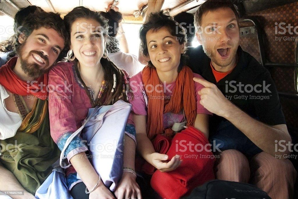 Auto rikshaw royalty-free stock photo