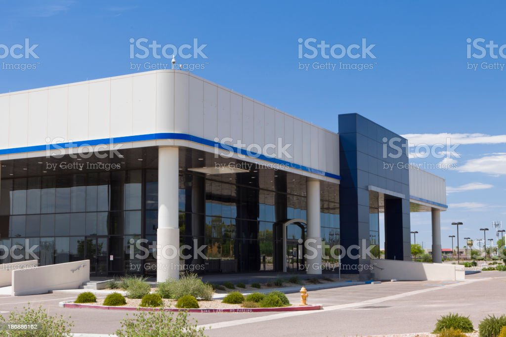 Auto Sales Showroom royalty-free stock photo