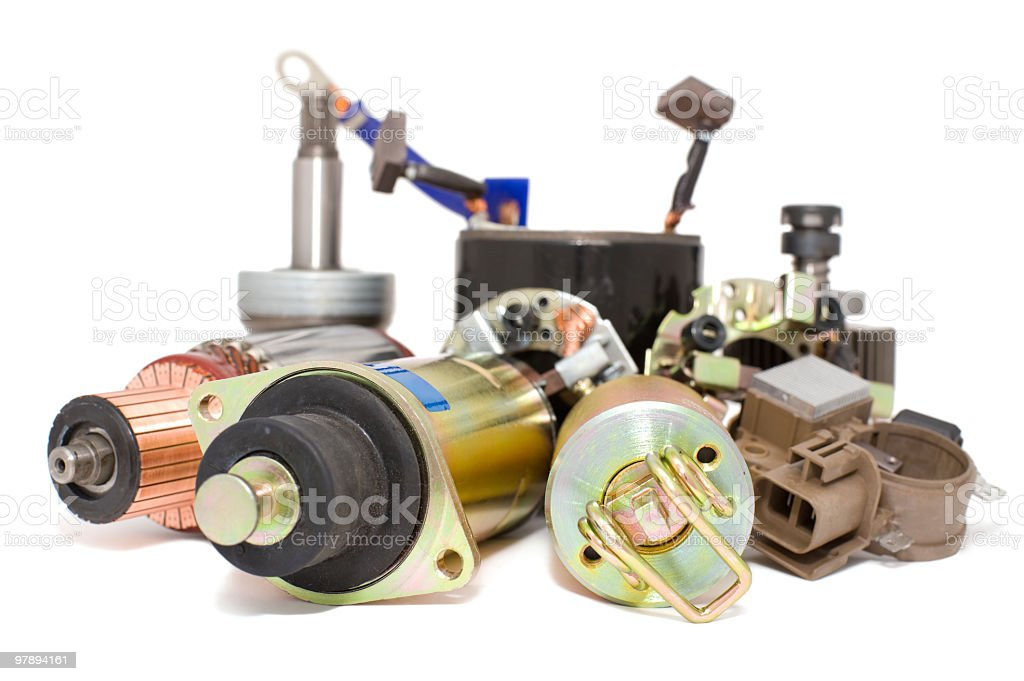 auto spare parts royalty-free stock photo