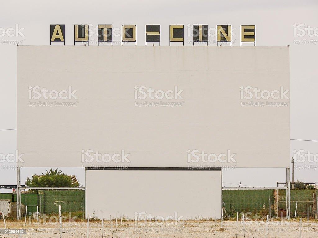 Autocine stock photo