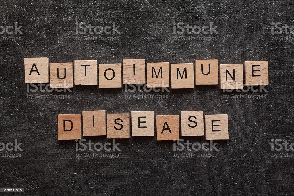 Autoimmune disease stock photo