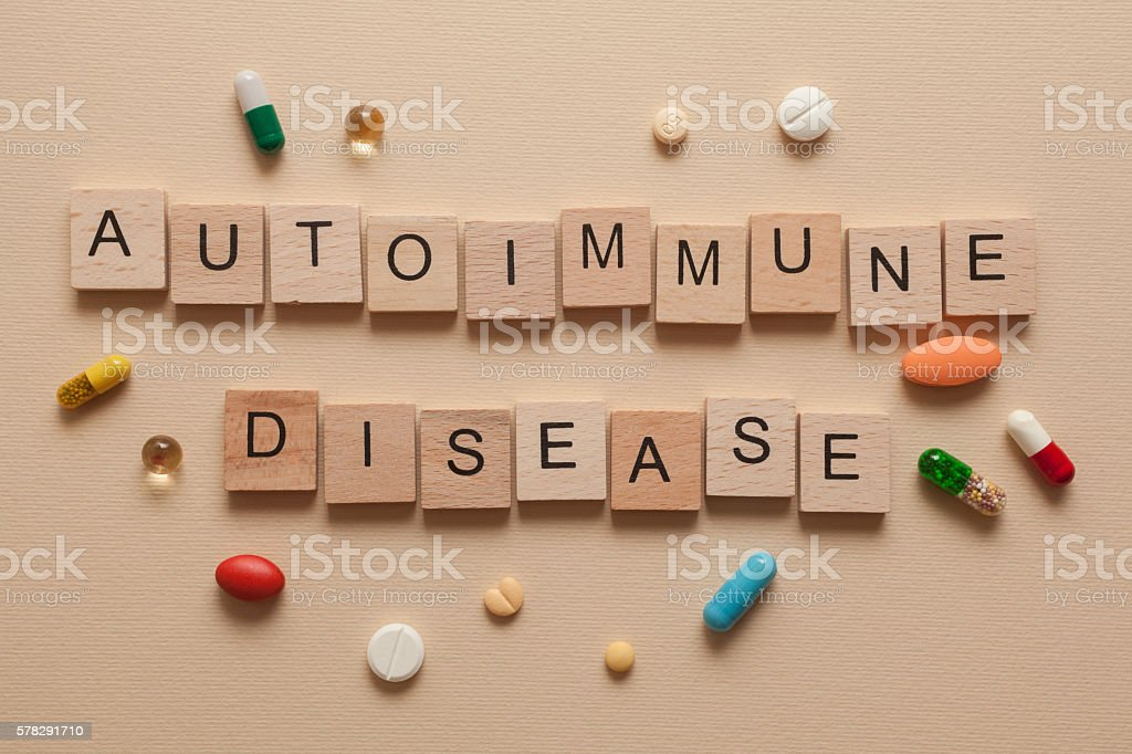 Autoimmune disease stock photo