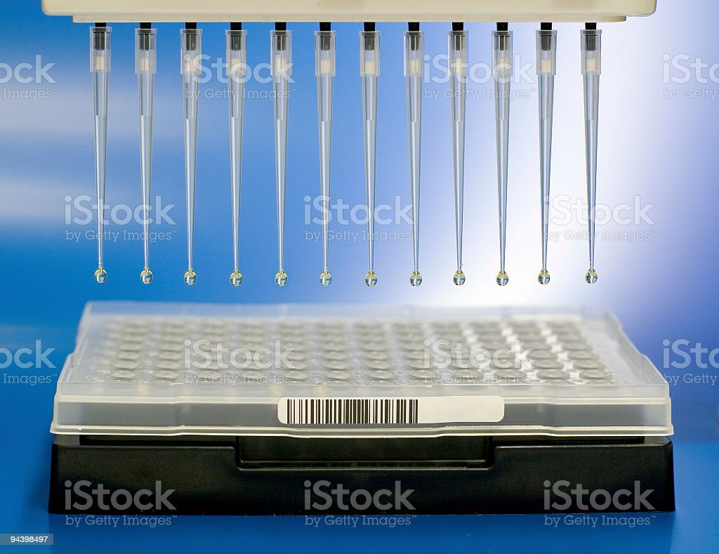 Automated analysis stock photo