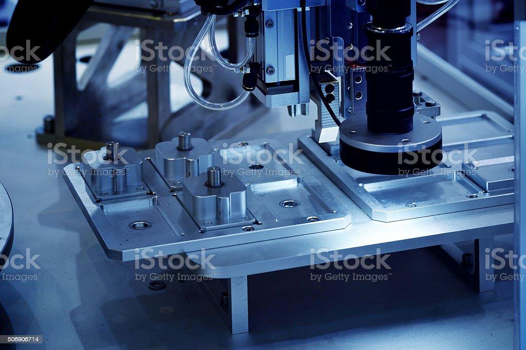 CNC Automated Equipment stock photo