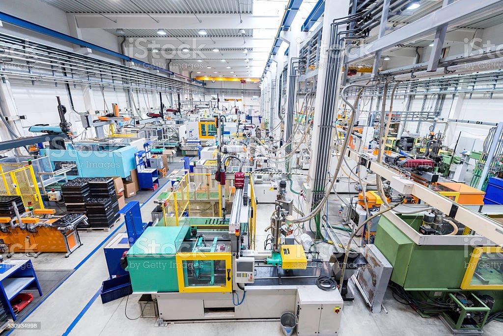 Automated machinery stock photo