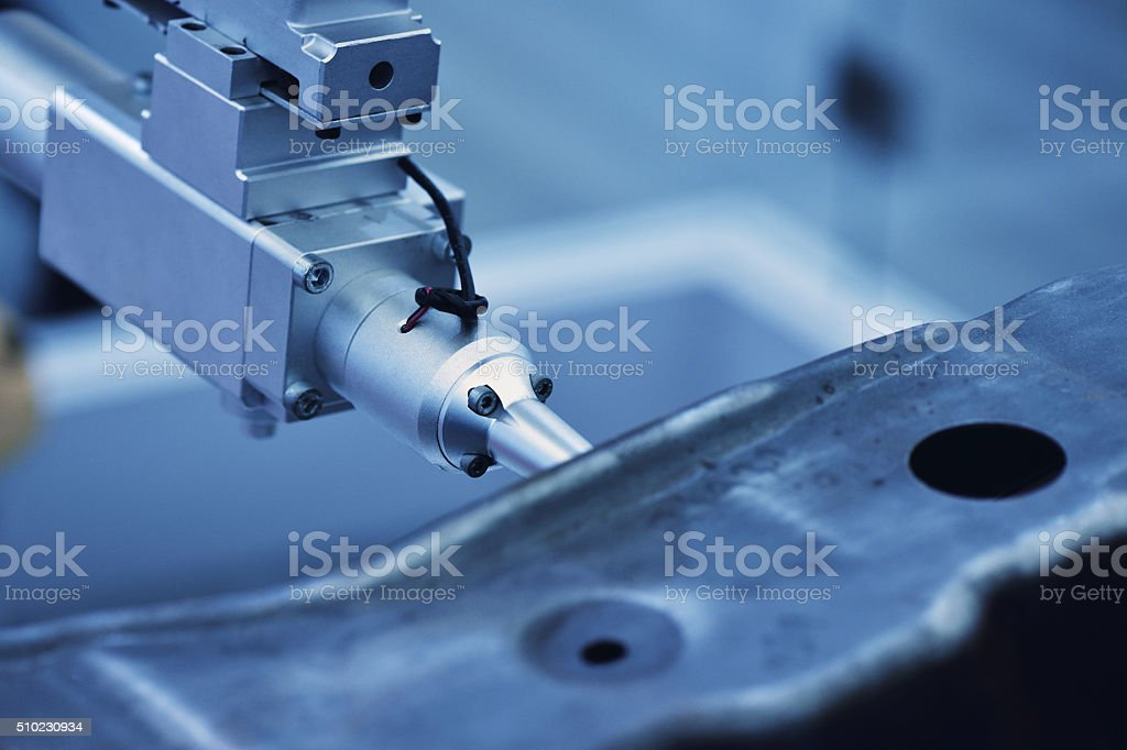 Automated Manufacturing stock photo