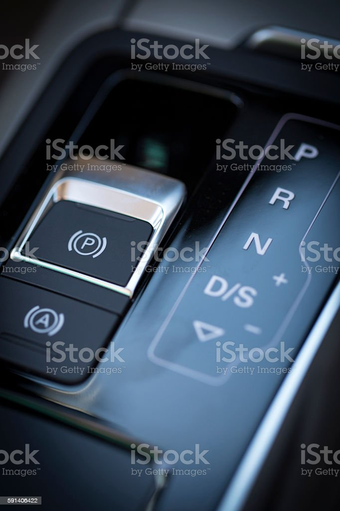Automatic Gearshift stock photo