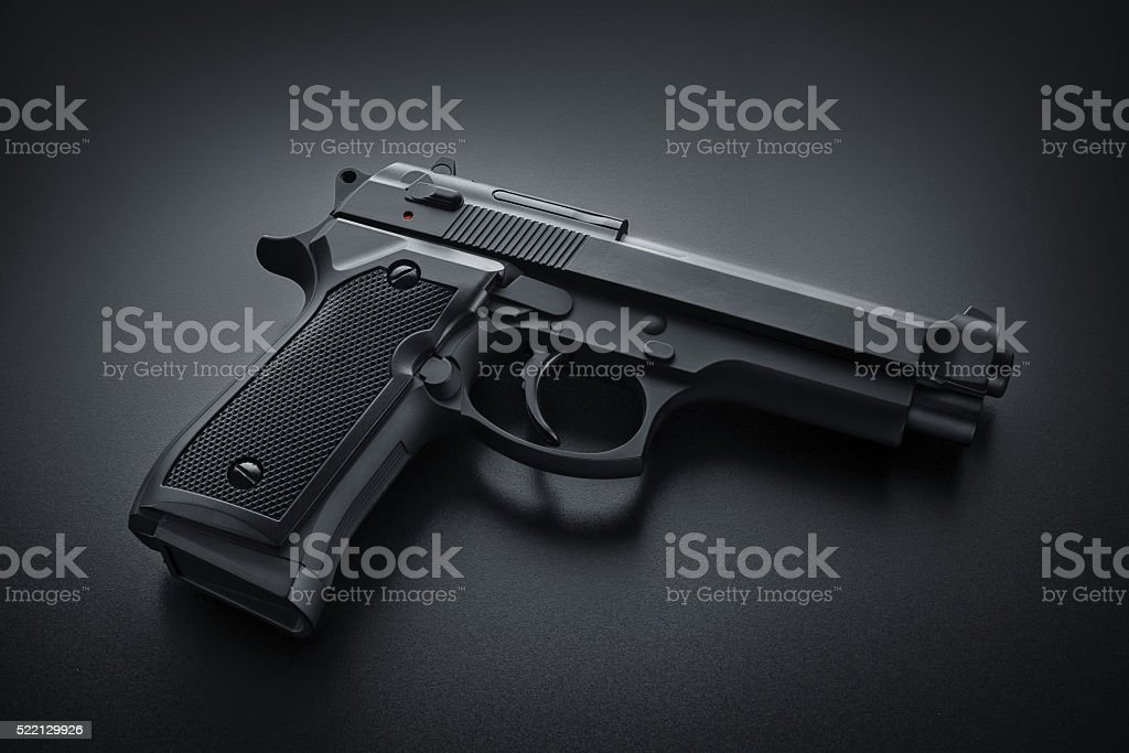 Automatic Gun stock photo