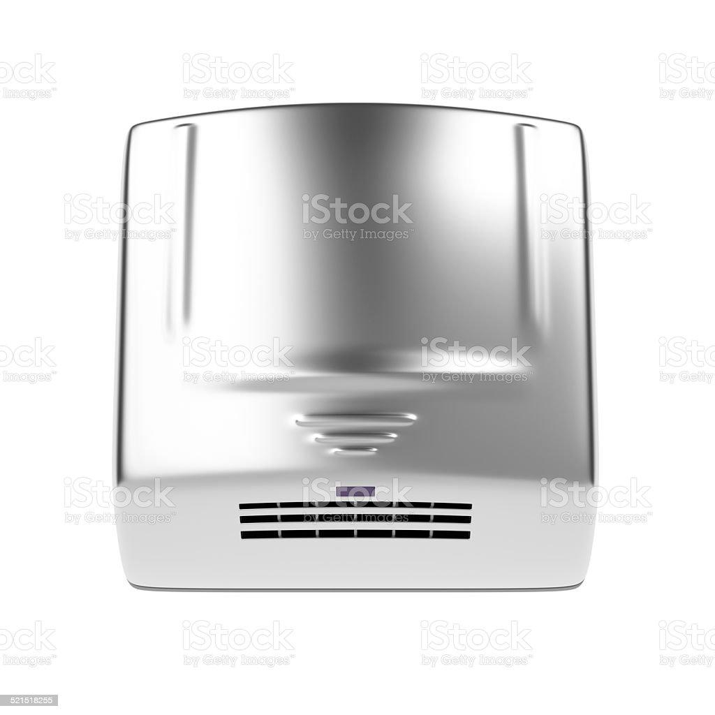 Automatic hand dryer stock photo
