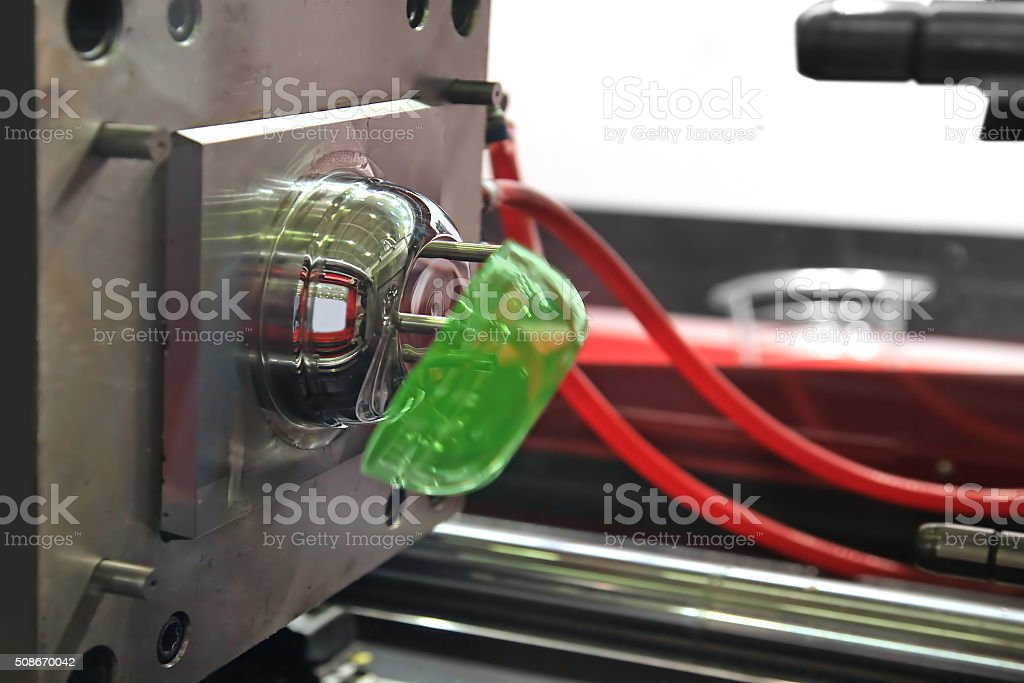 automatic molding machine stock photo