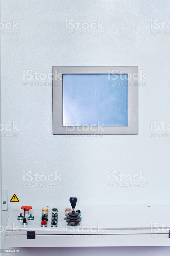 automatic mould pouring system stock photo