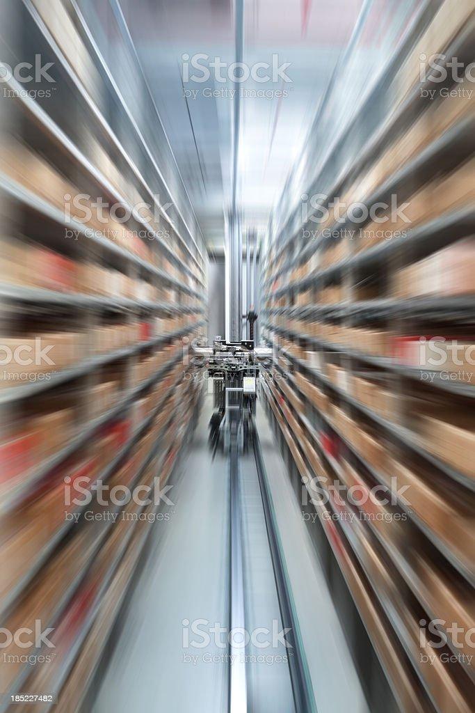 Automatic storehouse stock photo