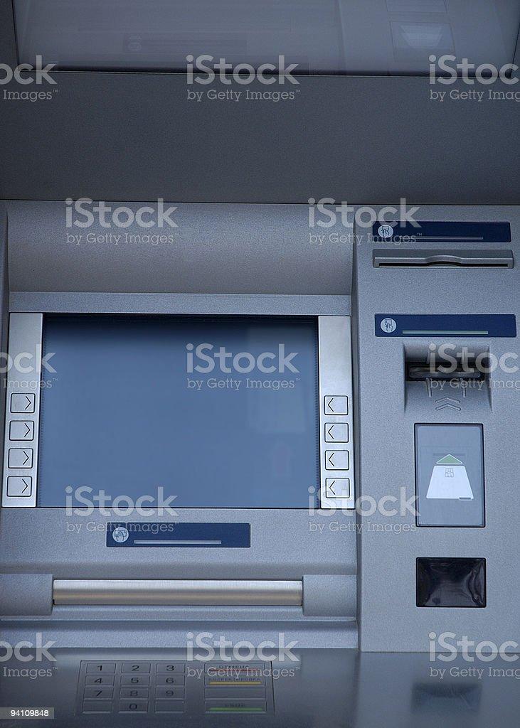 Automatic teller machine royalty-free stock photo