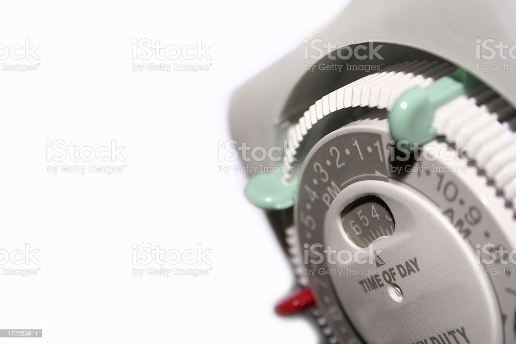 Automatic timer royalty-free stock photo