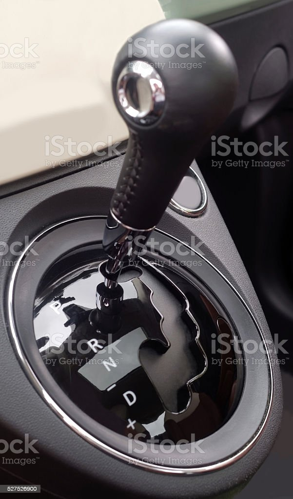 Automatic Transmission Gearshift stock photo