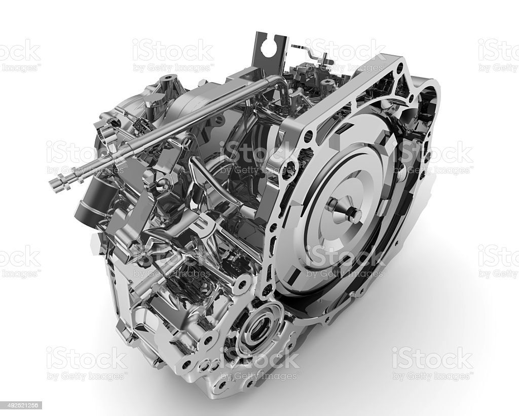 Automatic Transmission of a vehicle stock photo