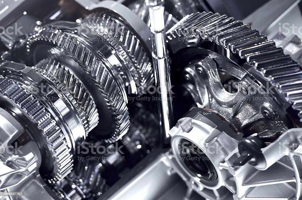 Automatic Transmission royalty-free stock photo