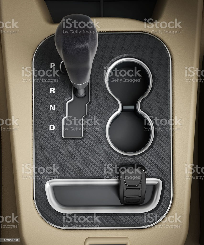 Automatic transmission stock photo