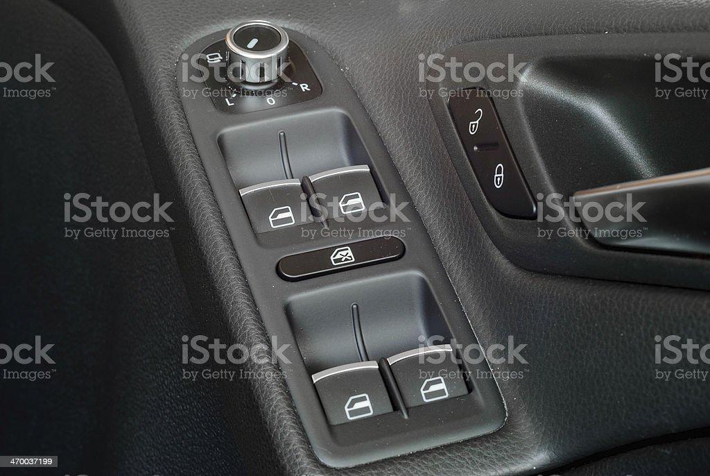 Automatic Window Switch stock photo