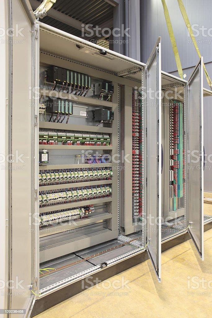 Automation atex panel board stock photo