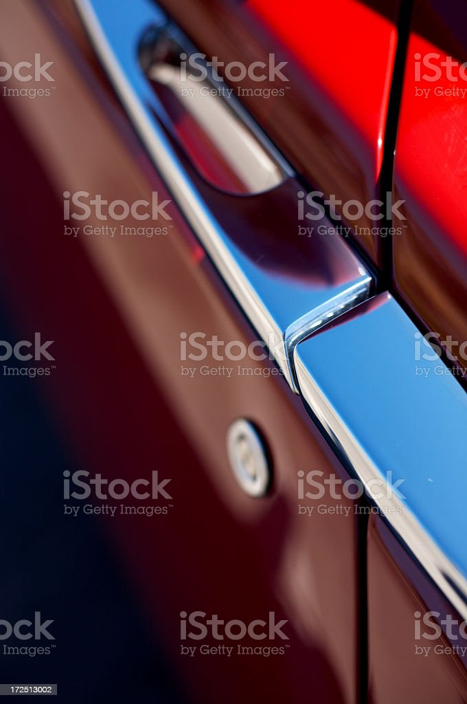 Automobile Door Abstract royalty-free stock photo