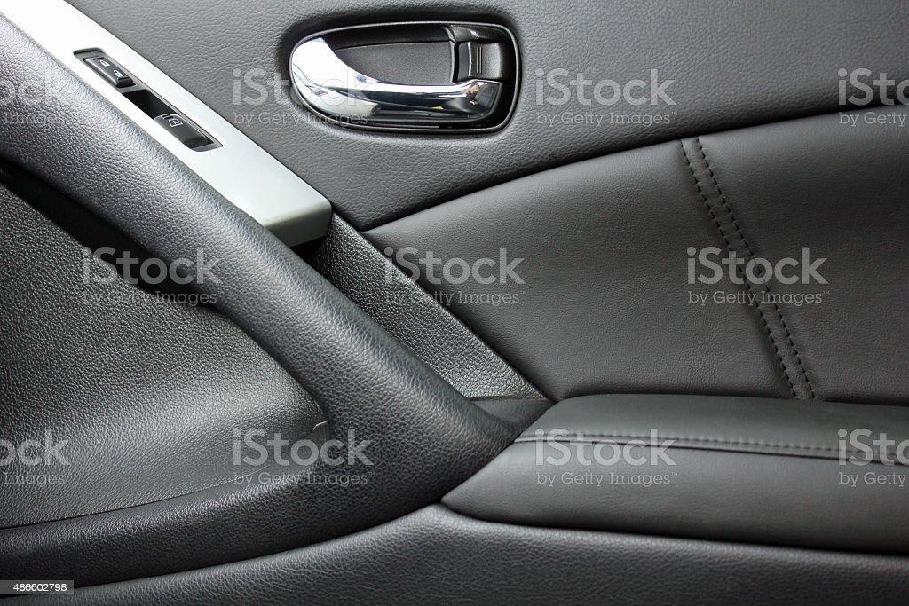 automobile door panel stock photo