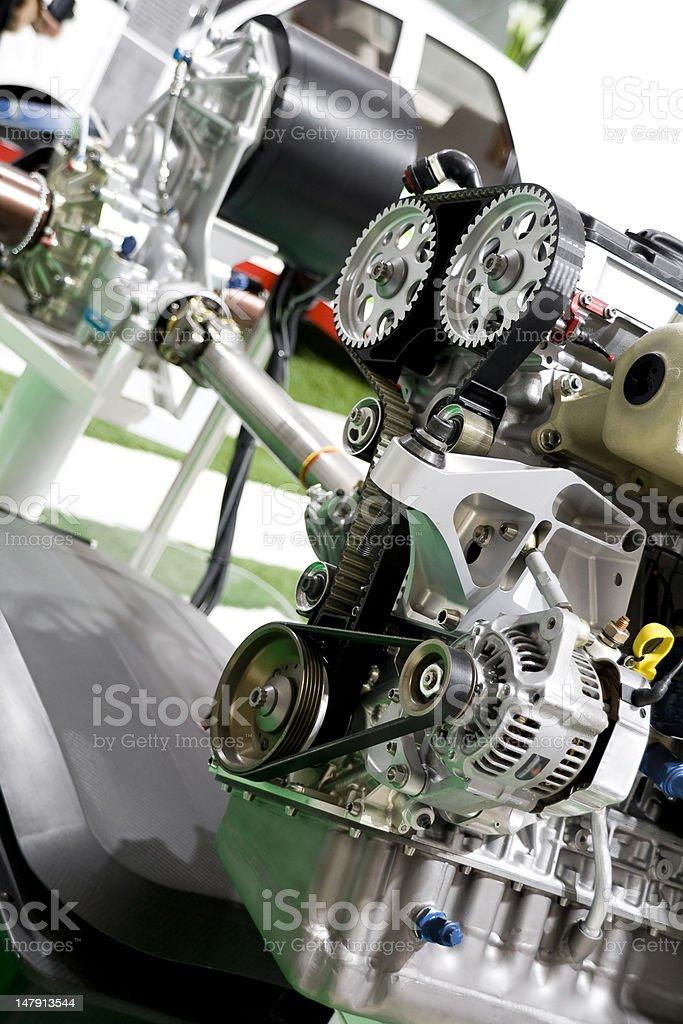 automobile engine royalty-free stock photo