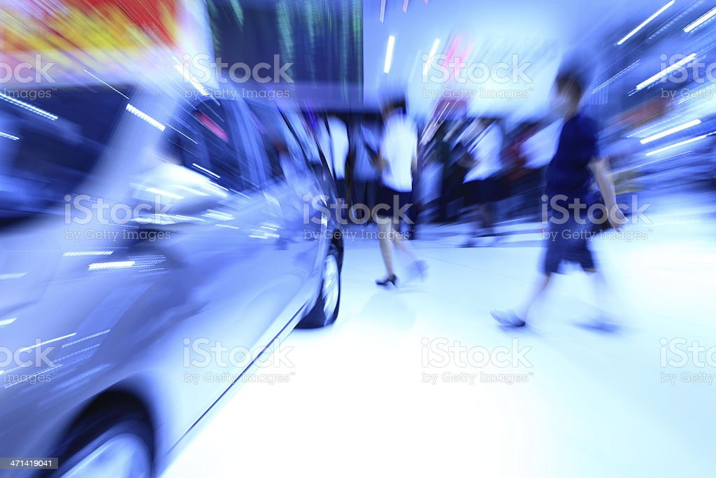 Automobile Exhibition royalty-free stock photo