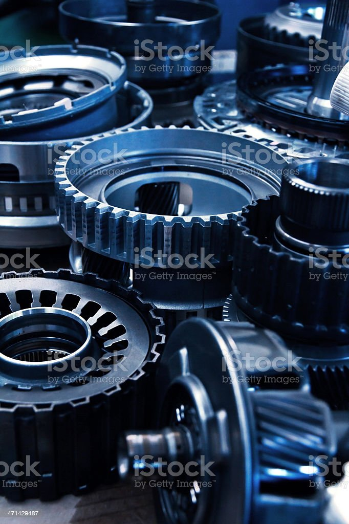 automobile gear assembly royalty-free stock photo