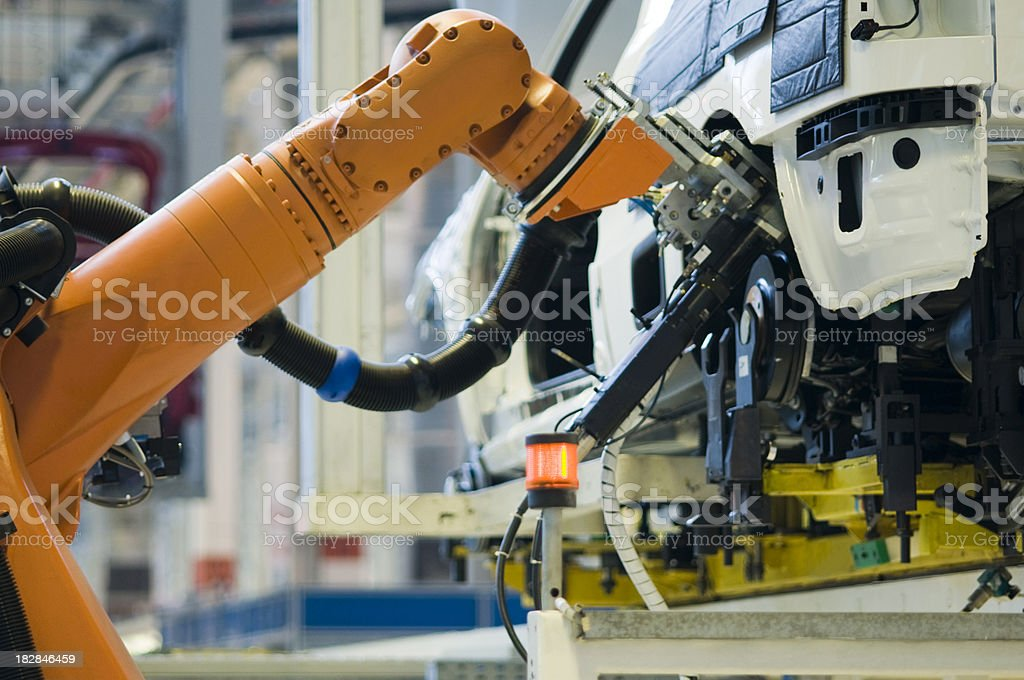Automobile Industry stock photo