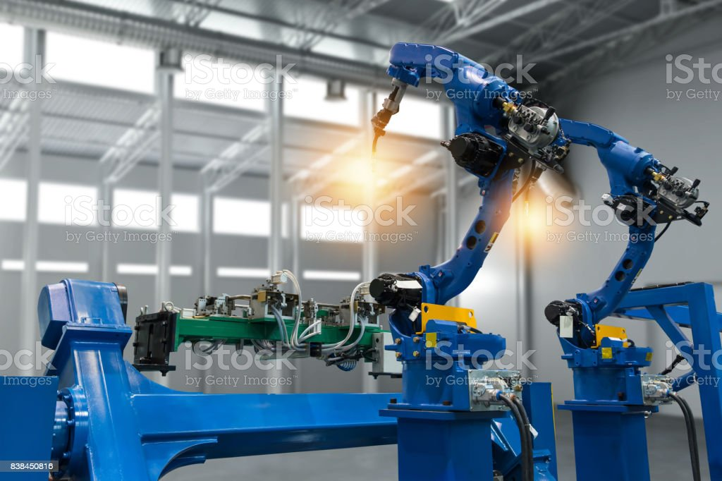 Automobile manufacturing production industrial machine , factory...