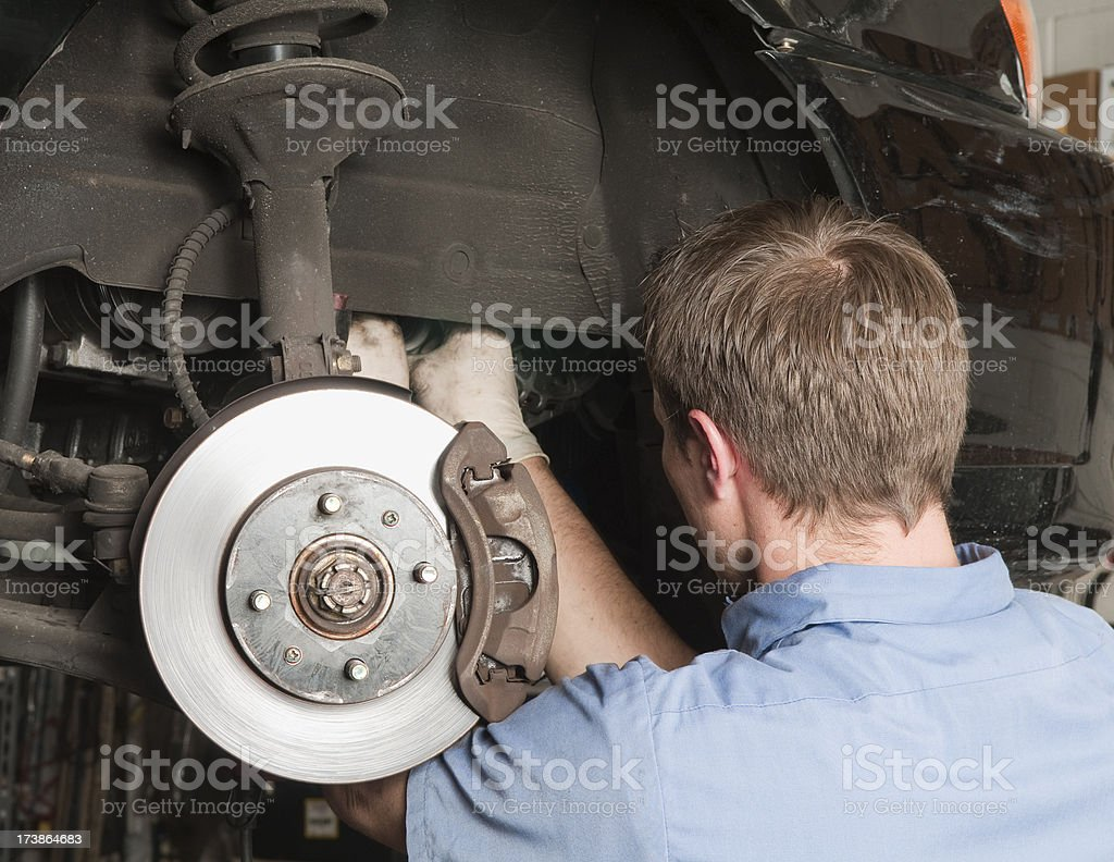 Automobile Mechanic royalty-free stock photo