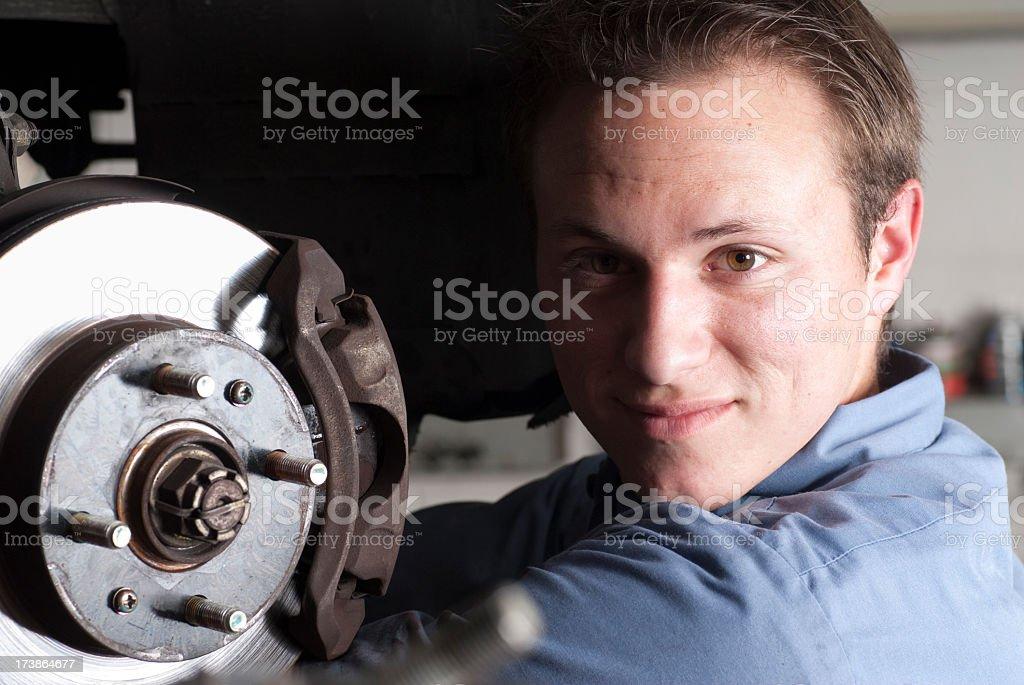 Automobile Mechanic Portrait royalty-free stock photo