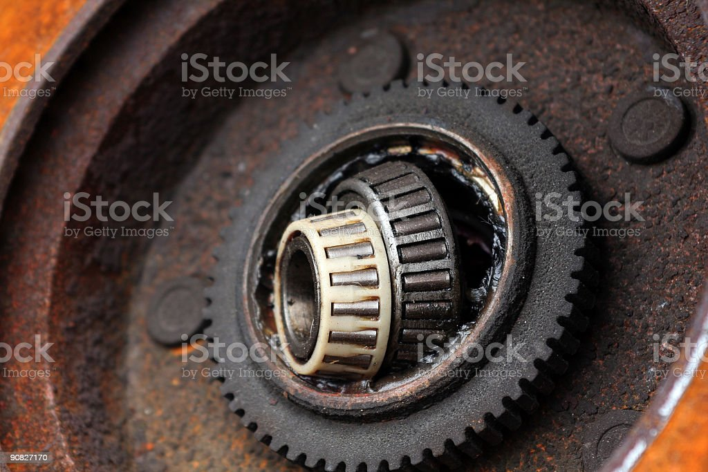 Automobile Parts - Wheel Bearing stock photo