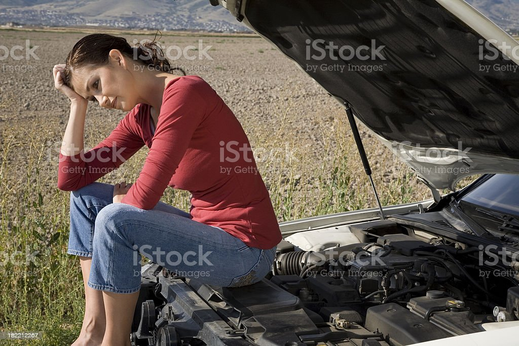 Automobile Problems royalty-free stock photo
