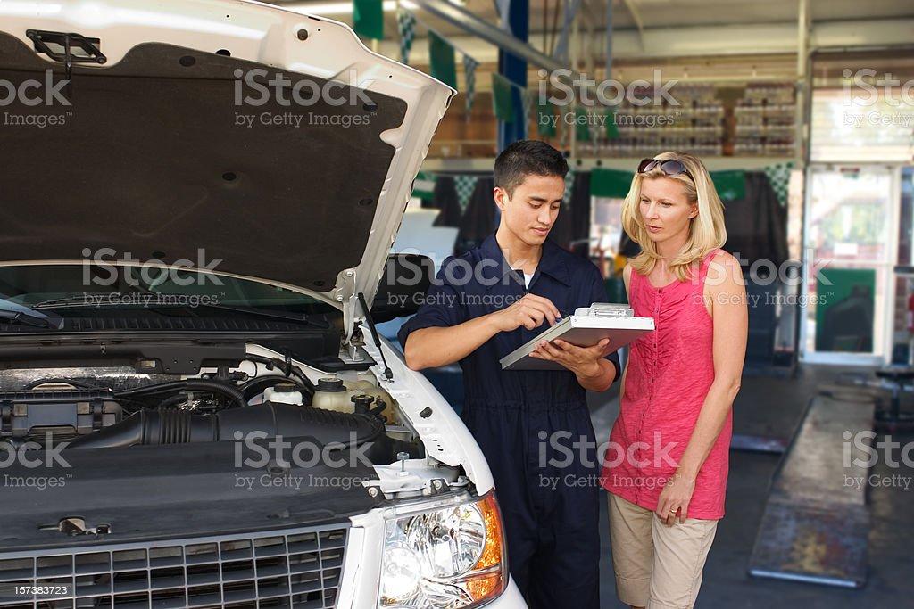 Automobile Repair stock photo