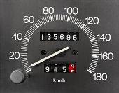 Automobile Speedometer and Odometer