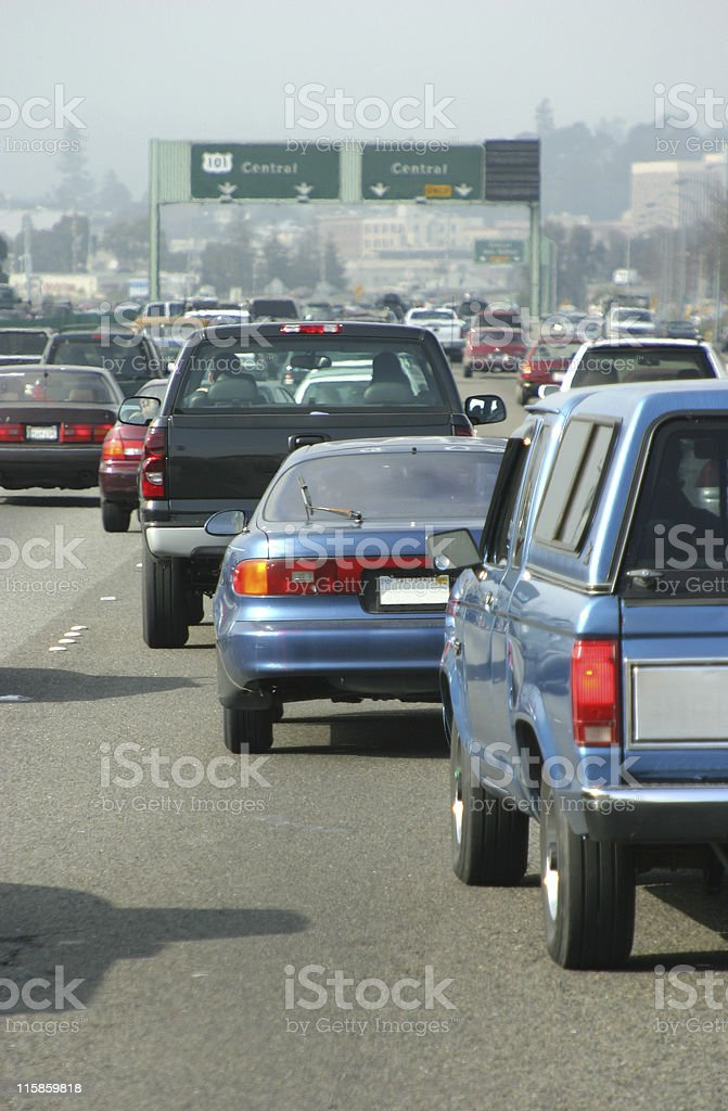 Automobile Traffic #1 royalty-free stock photo