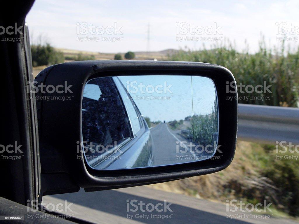 Automobiles - Car Wing Mirror royalty-free stock photo