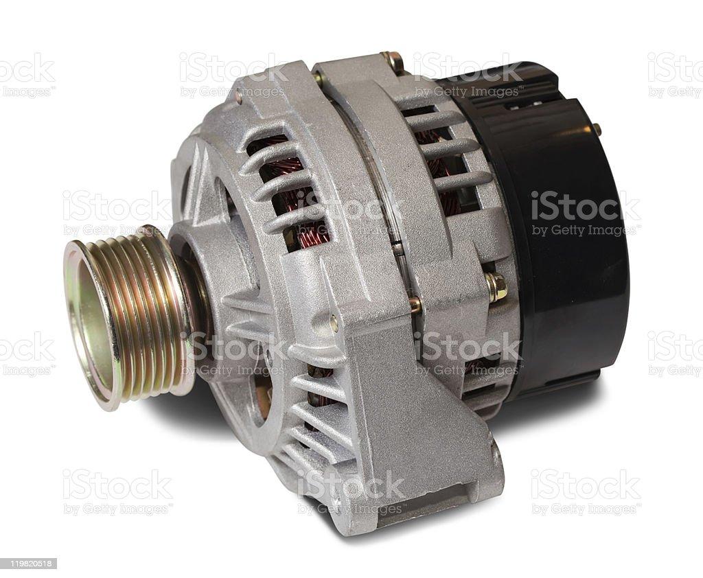 automotive alternator royalty-free stock photo