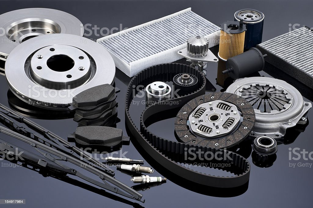 Automotive Car Parts stock photo